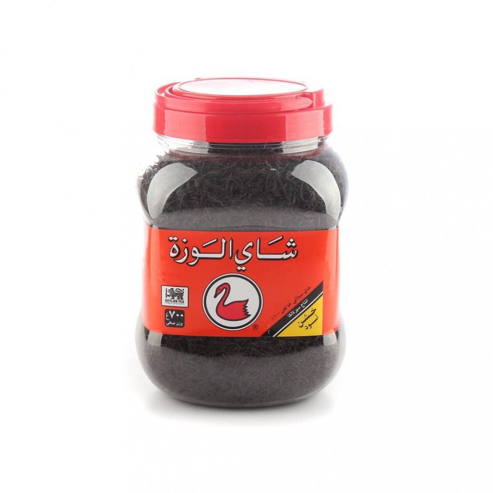 شاي الوزة اسود بلاستيك 700 جرام
