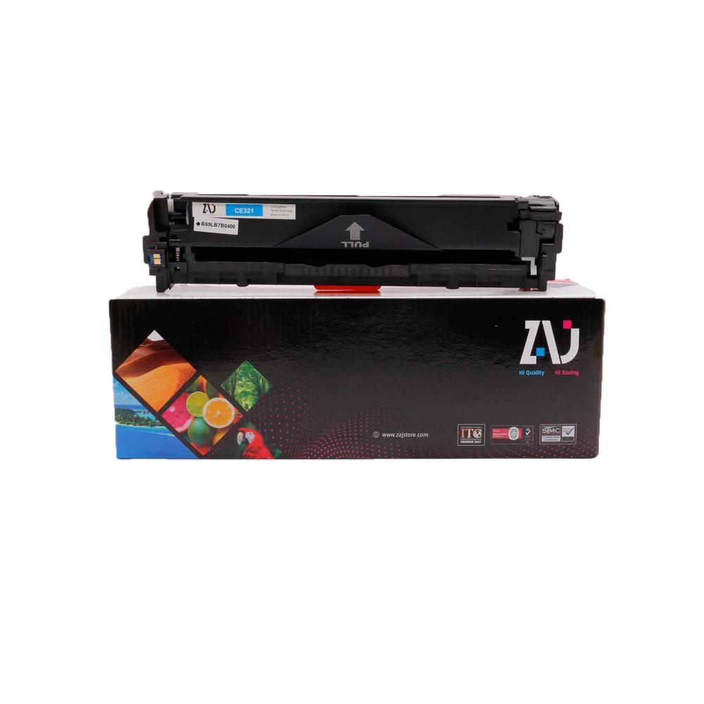 حبر طابعة  128A ازرق  CE321A  متوافق مع طابعات  HP