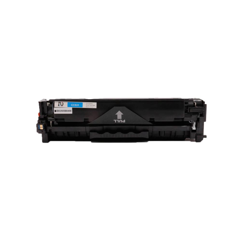 حبر طابعة 304A ازرق CC531A  متوافق مع طابعات HP
