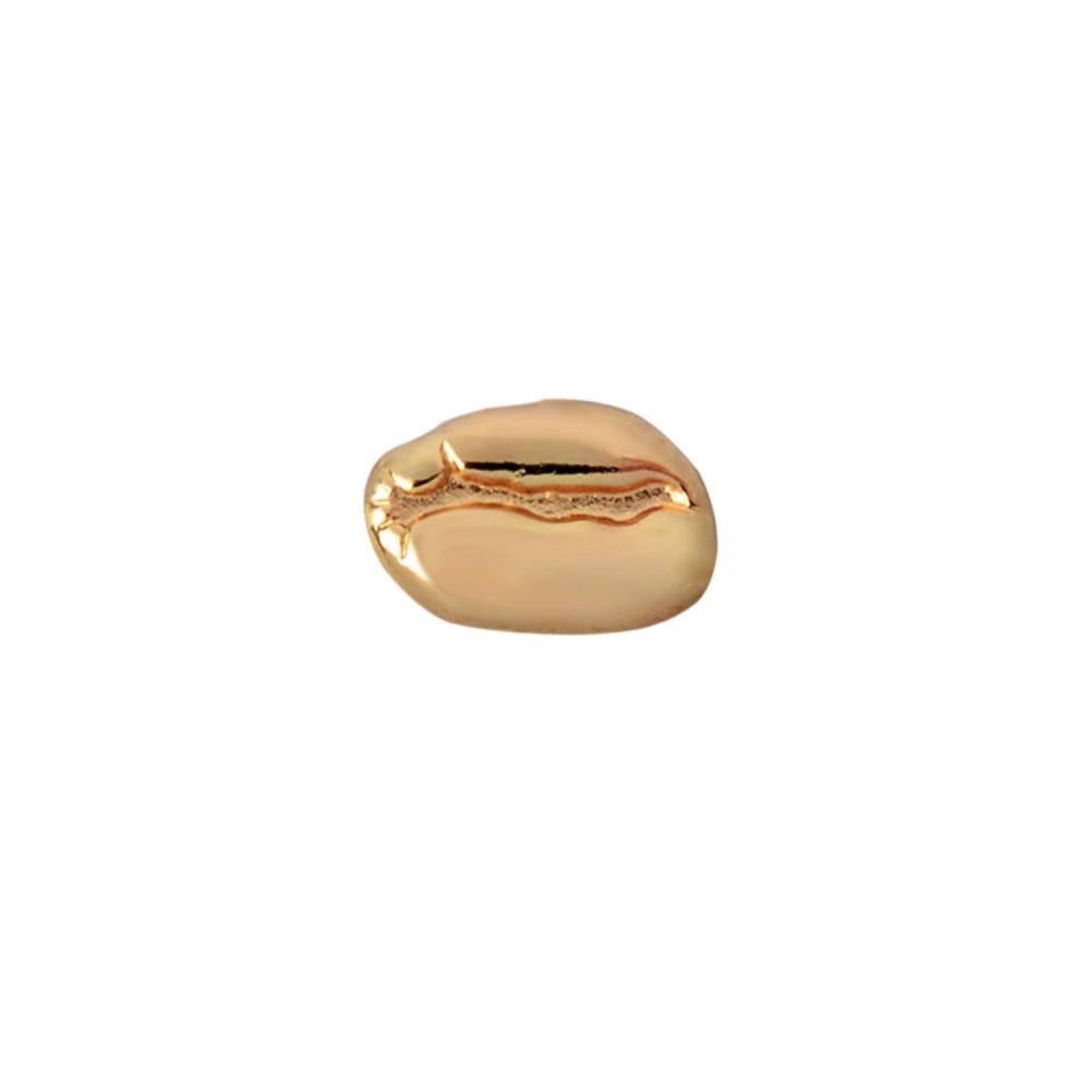 بروش حبوب قهوة أدوات القهوة بروش باريستا اكسسوارت لون ذهبي متجر