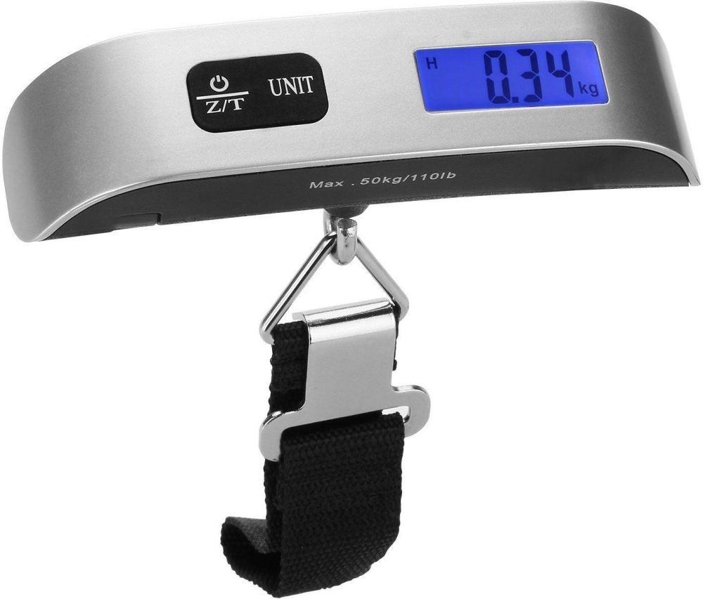 ميزان إلكتروني بشاشة ال سي دي لقياس وزن شنط السفر - قياس حتى 50 كيلوجر