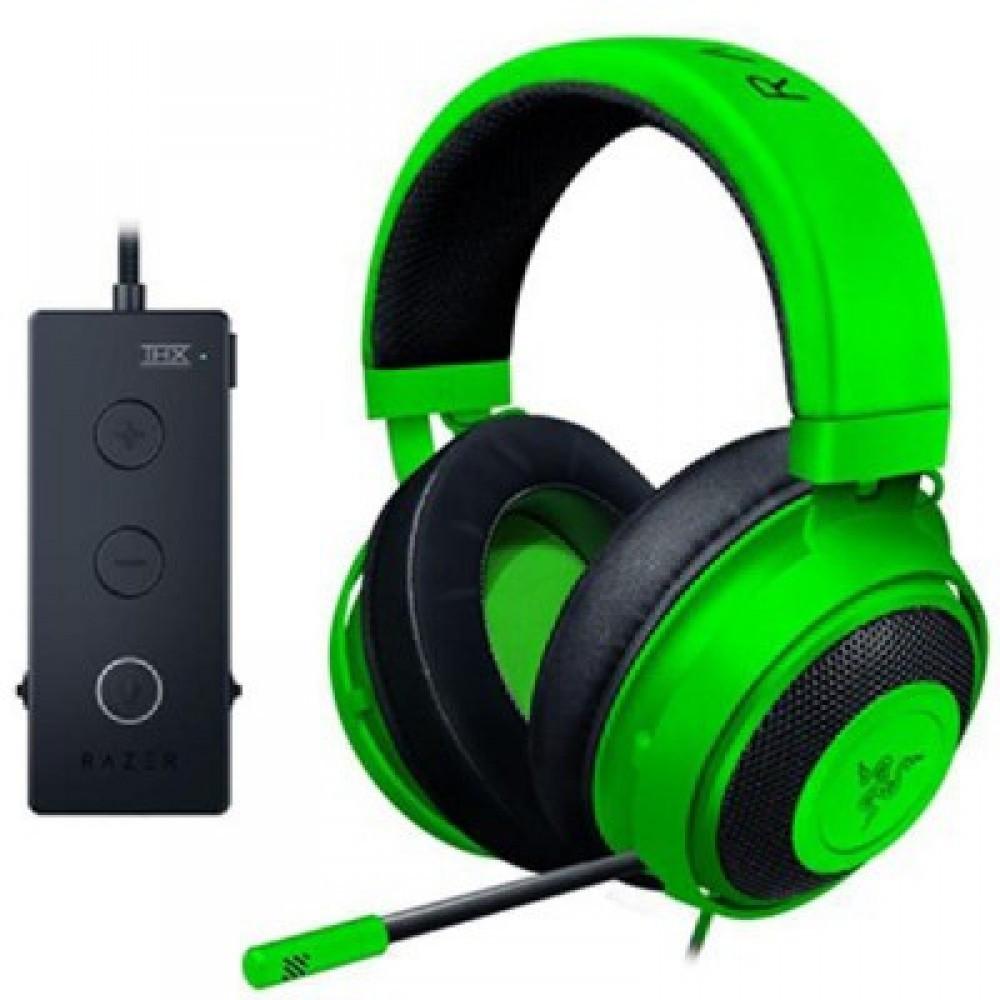 Razer Kraken Tournament Ed Wired USB Contr Green THX