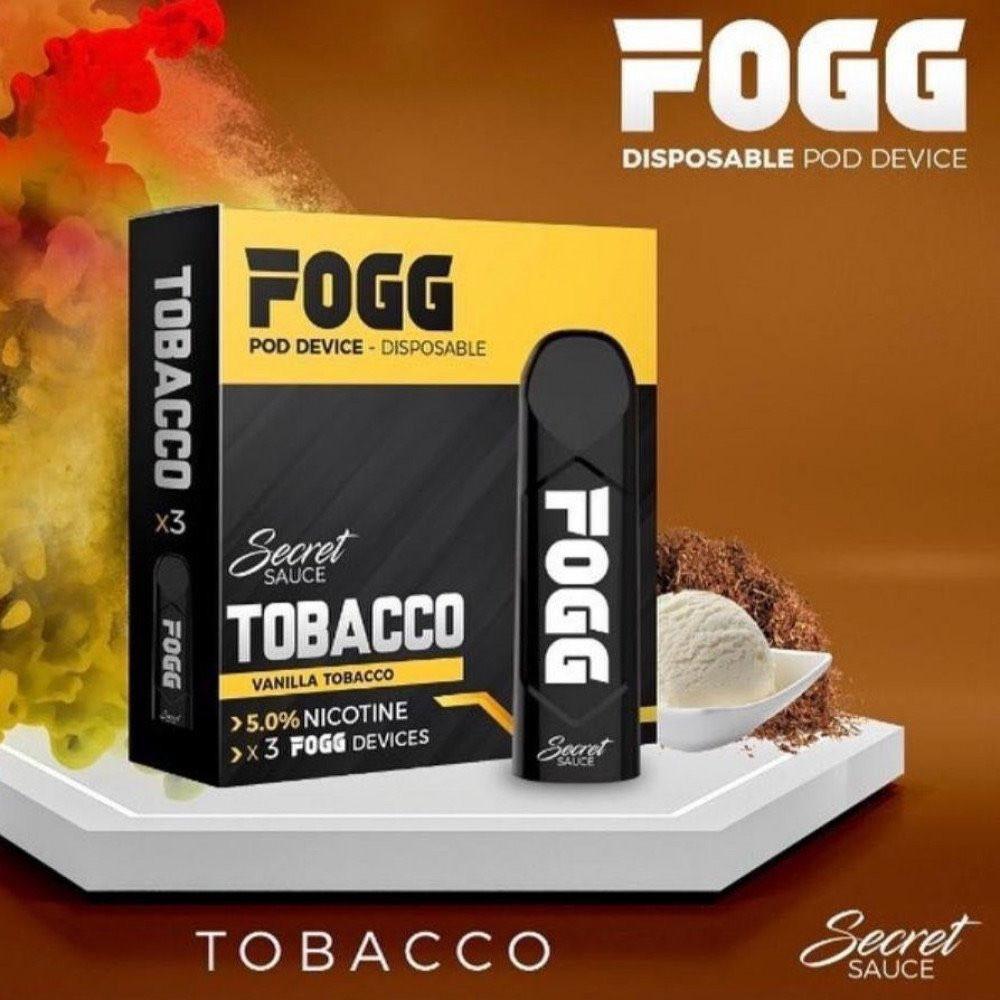 سحبة سيجارة فوج توباكو FOGG TOBACCO SaltNic