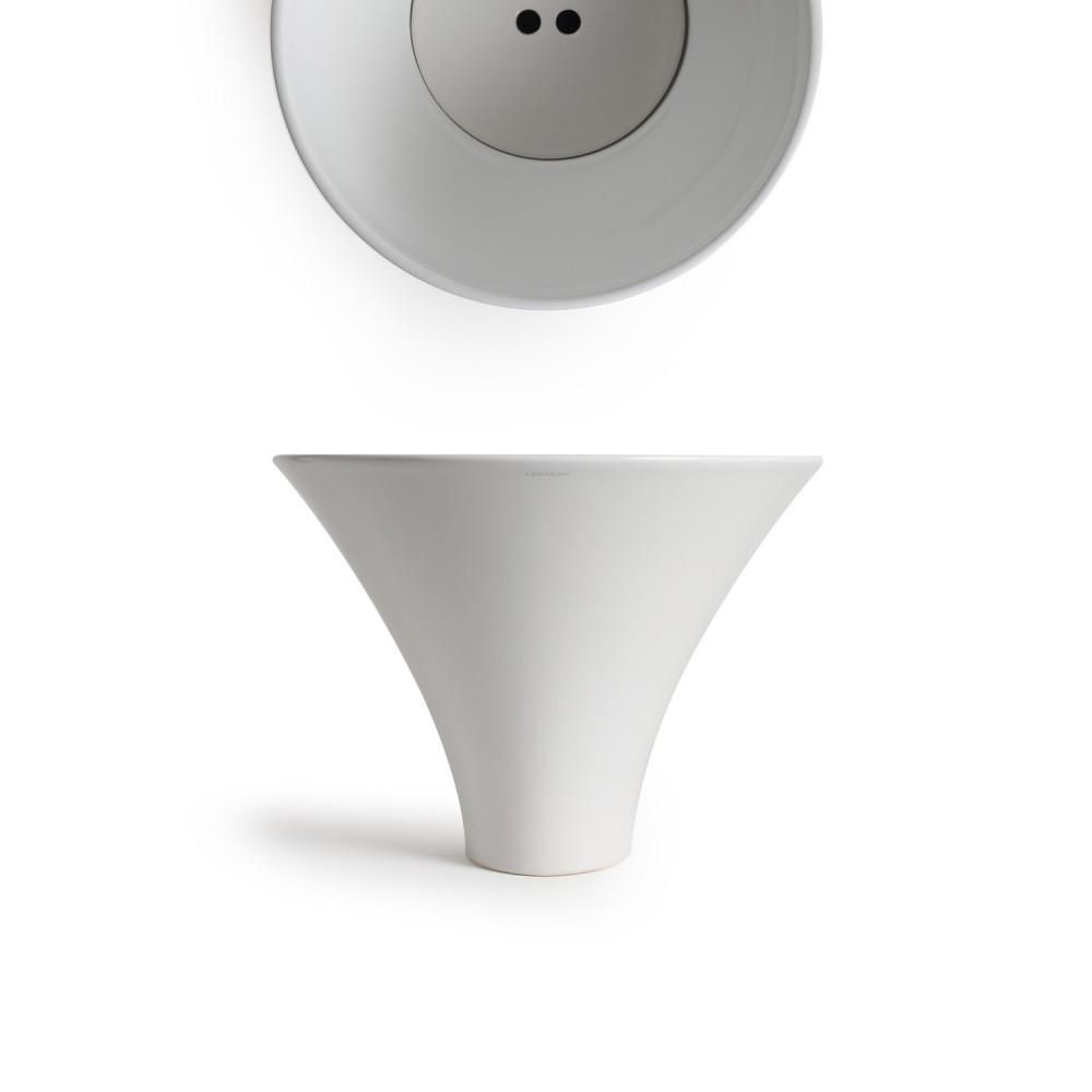 مغسلة ديكو فلوت  عبارة عن مغسلة صممت في تصميم عصري حيث ان يمكن وضعها
