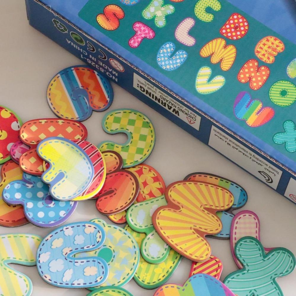 لعبة كتاب الحروف المفناطيسي للاطفال