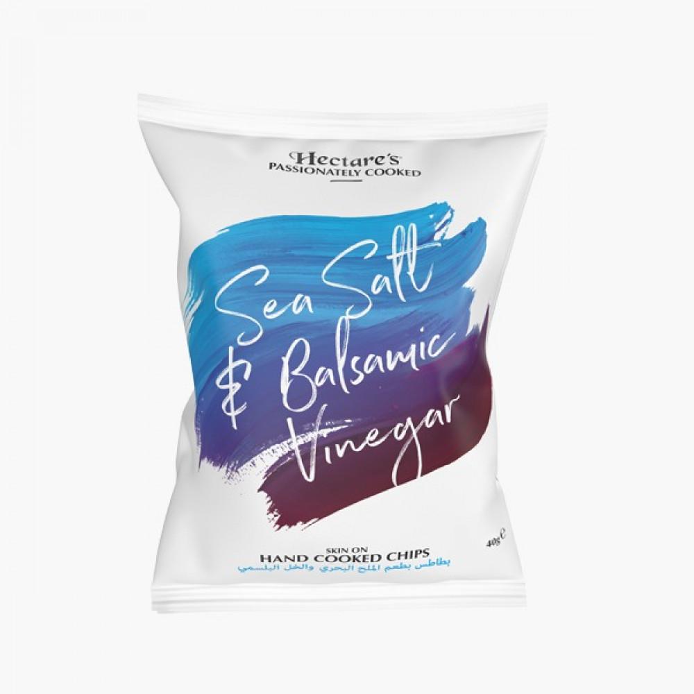 بطاطس الملح البحري والخل البلسمي Hectare Chips Salt Balsamic Vinegar
