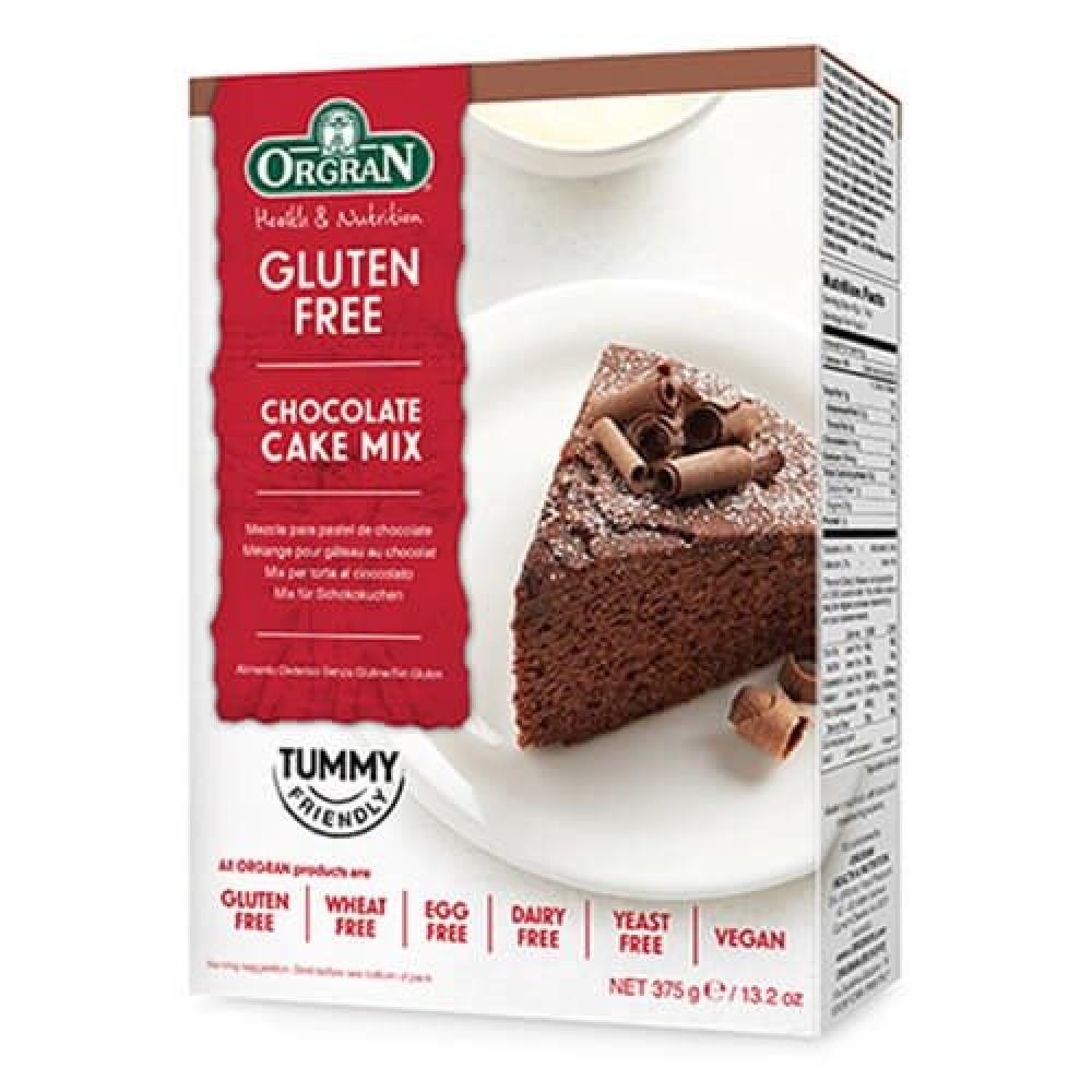 خليط كيك الشوكلاته خالي من الجلوتين 375 جرام