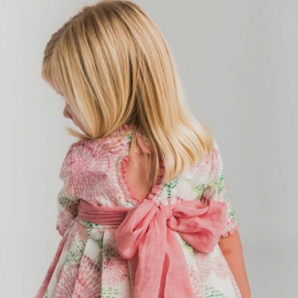 فستان-اسباني-بطباعة-الزهرات