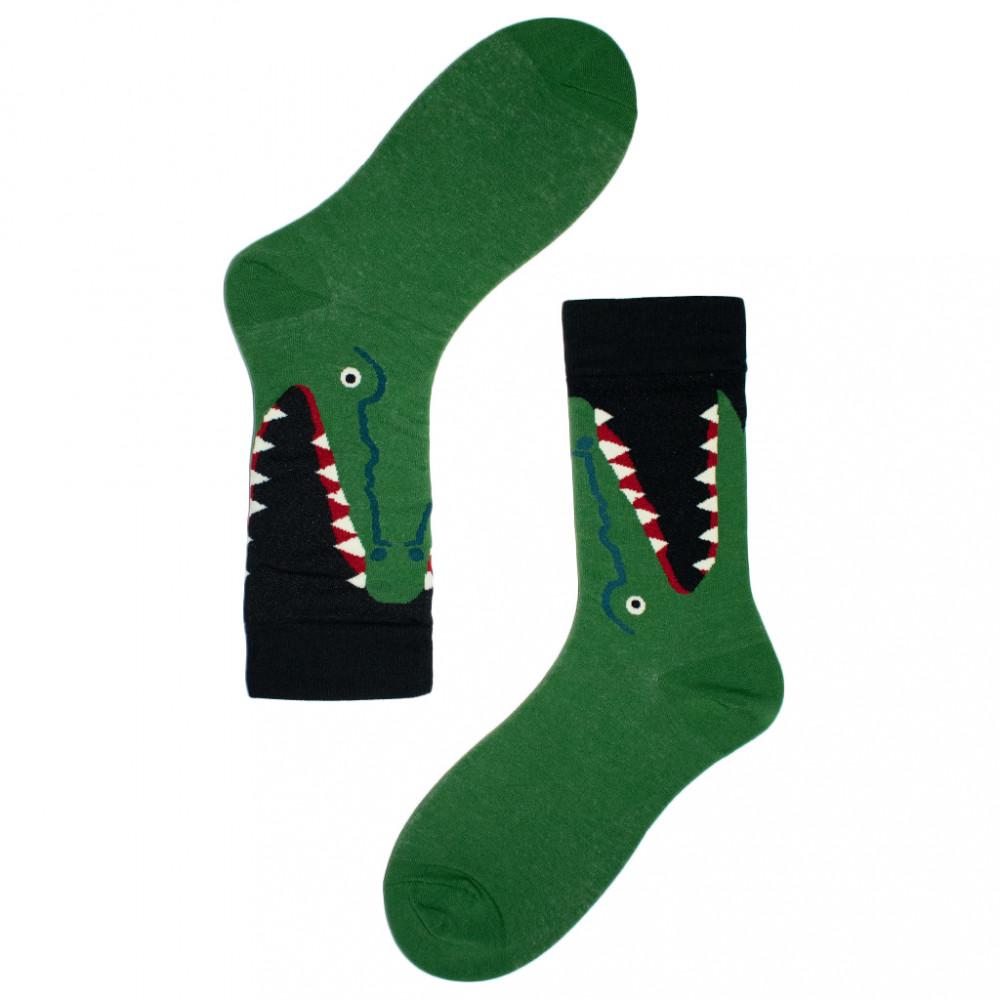جوارب ملونة - جوارب حيوانات - جورب التمساح -  Apogee socks