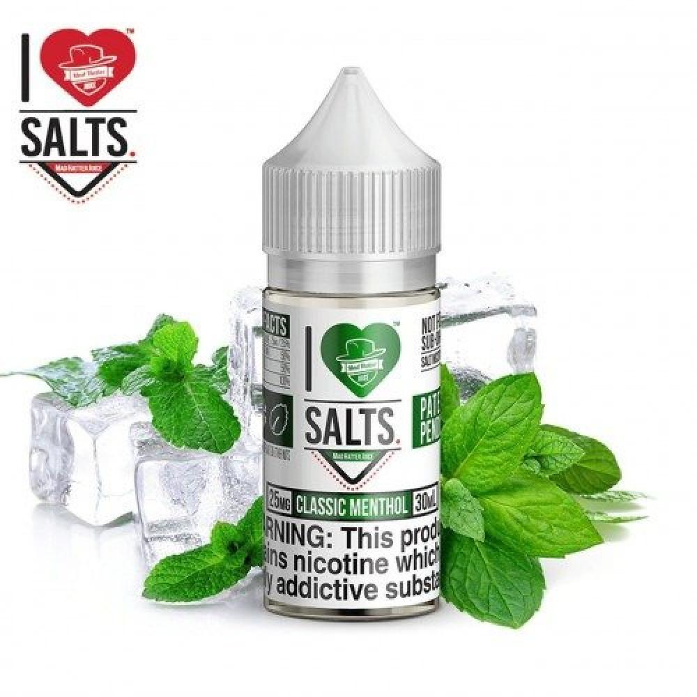نكهة كلاسيك منثول سولت I LOVE SALTS CLASSIC MENTHOL - Salt Nicotine