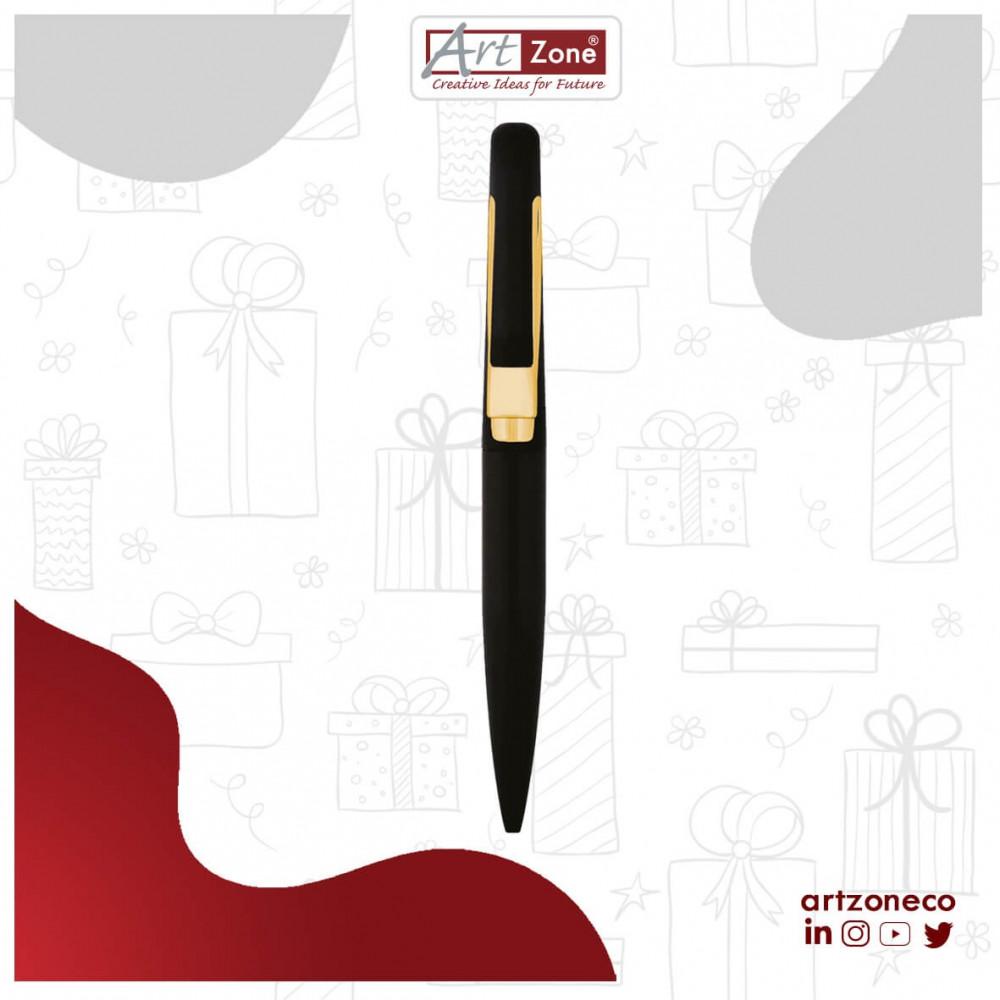 قلم ذهبي وأسود