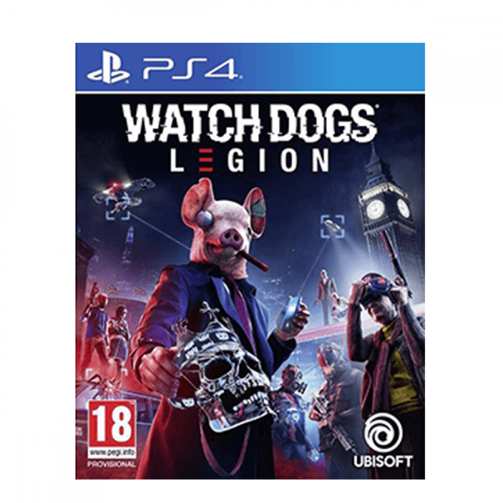 Watch Dogs Legion Ps4 واتش دوجز ليجون بلايستيشن 4 قبل المباراة Pregame
