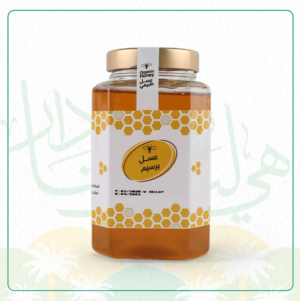 عسل برسيم - 1 كيلو - متجر الحواج للعسل والزيوت الطبيعية-