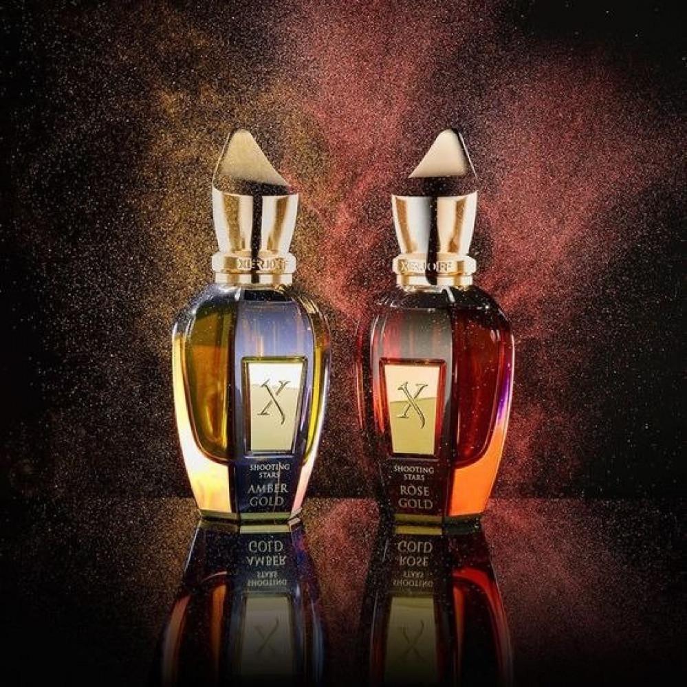طقم عطور  زيرجوف عنبر قولد و روز قولد Xerjoff perfume set Amber Gold a