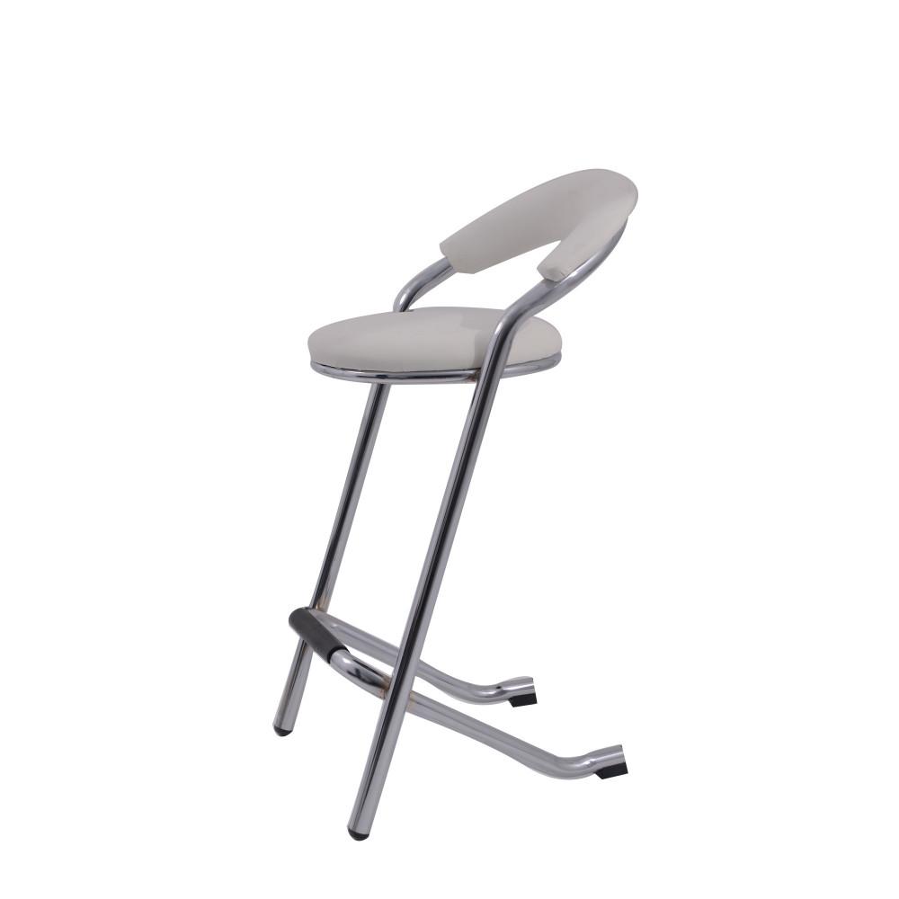 كرسي بار من كاما C-L-1 White
