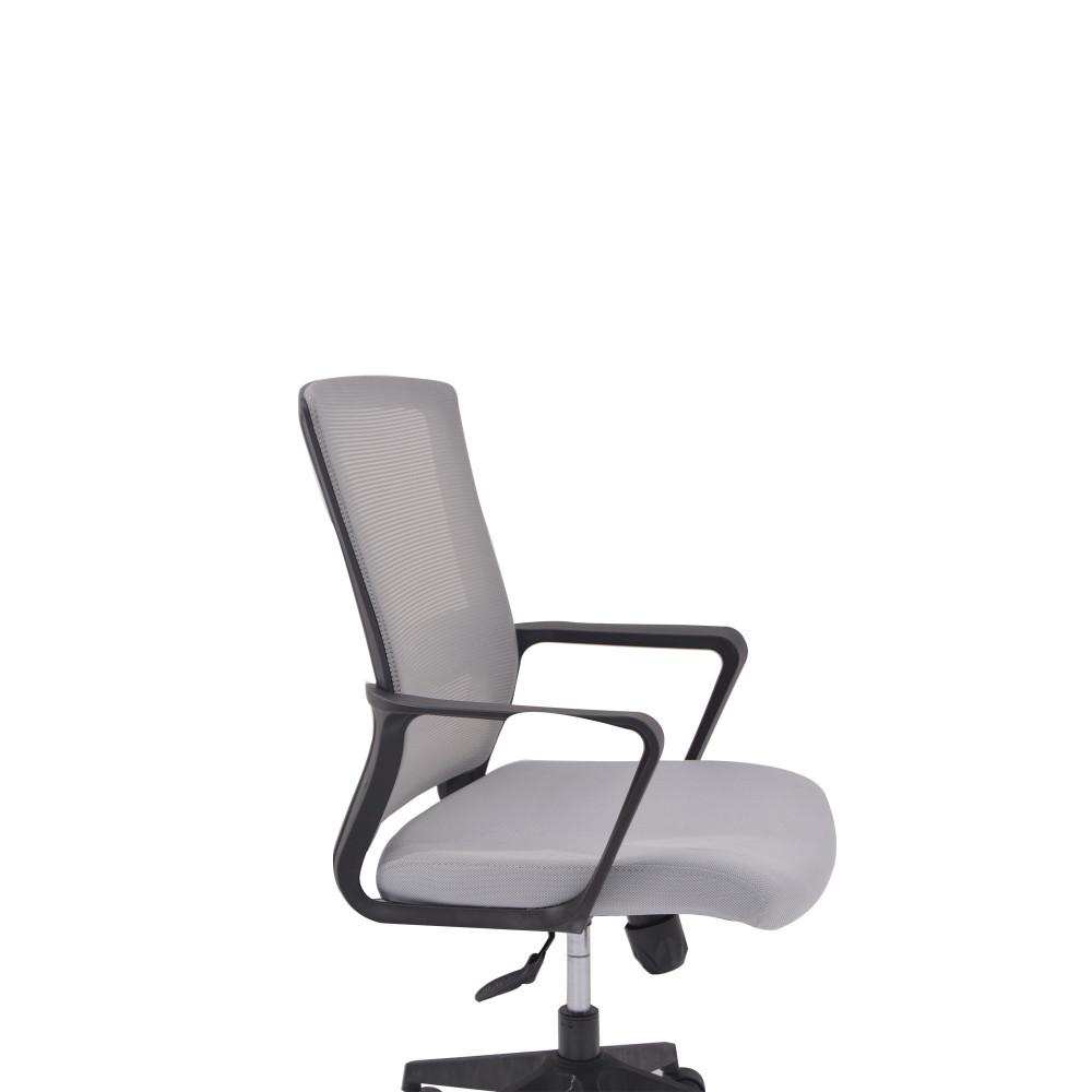 كرسي دوار رمادى من كاما C-804B
