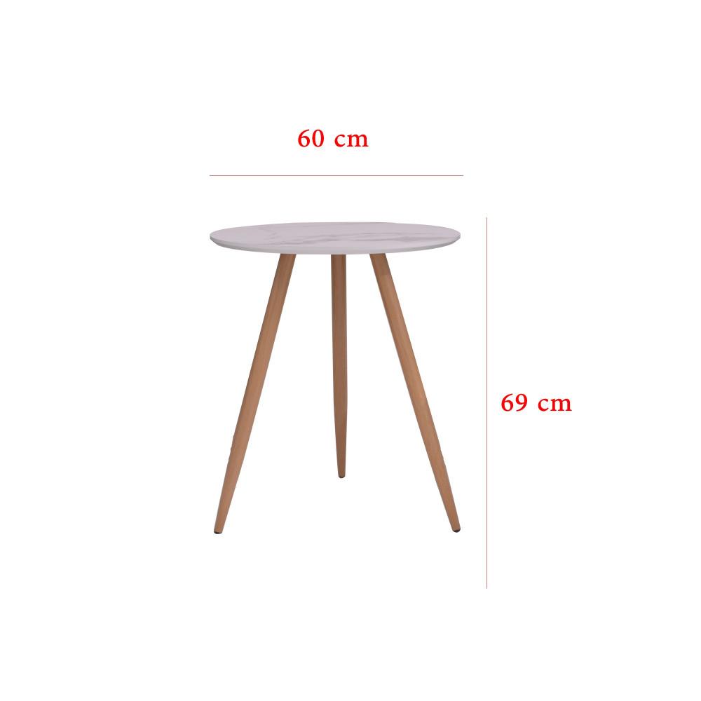 طقم طاولة و 2 كرسي  زيتي