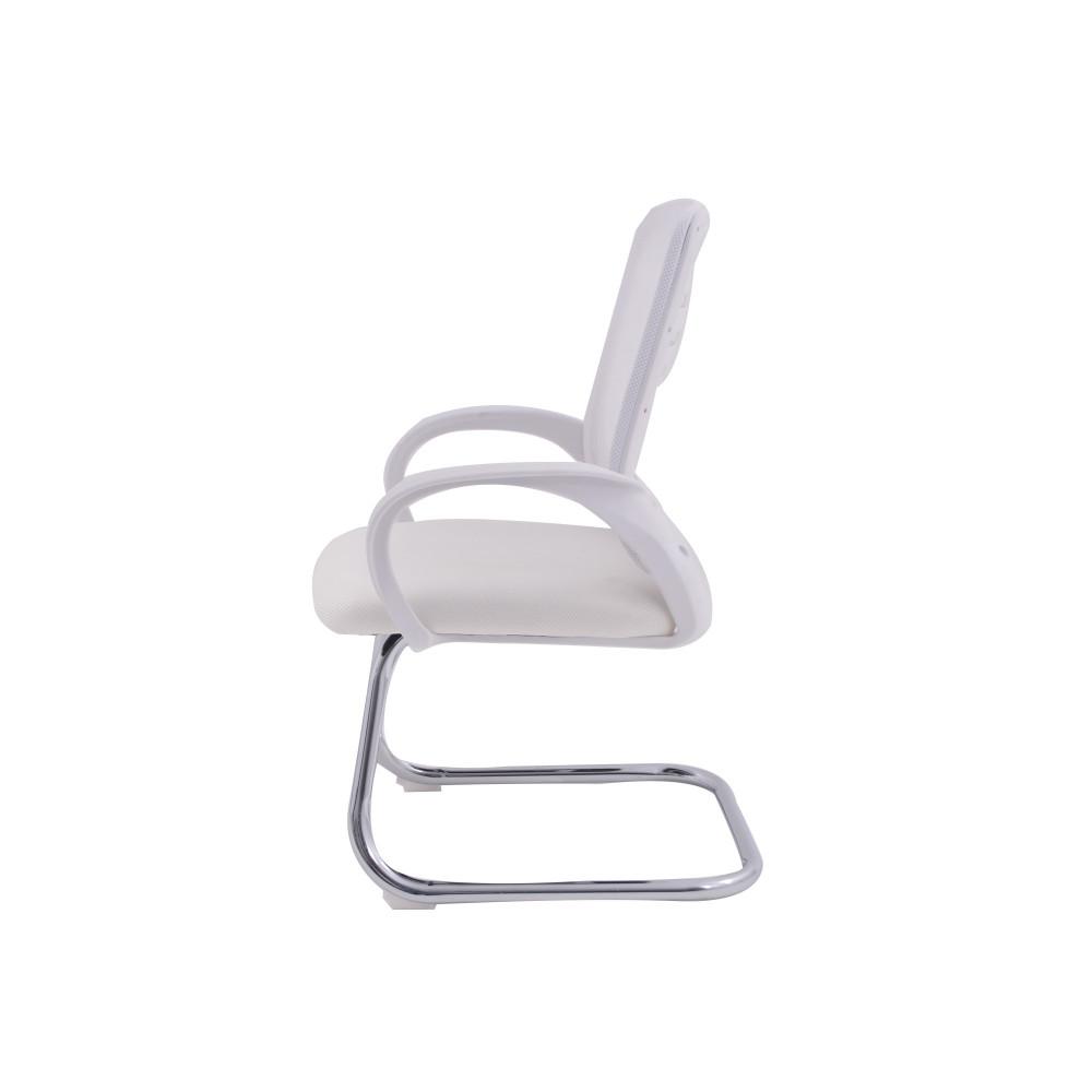 كرسي من كاما ثابت شبك  ابيض