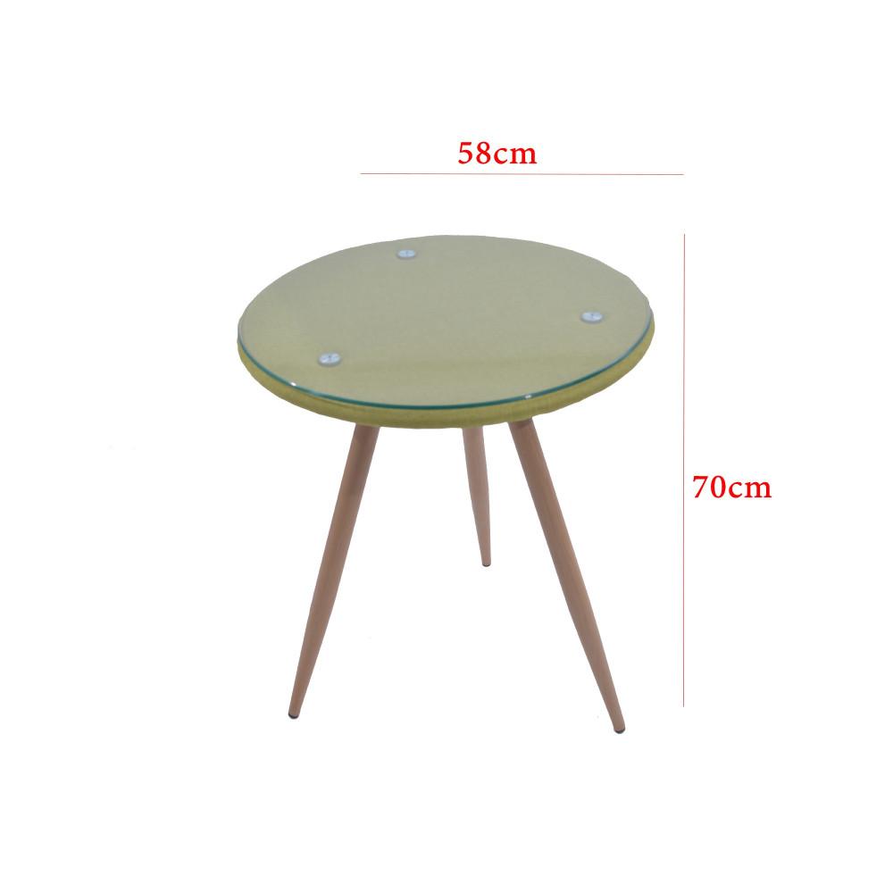 طقم طاولة و 2 كرسي  اخضر