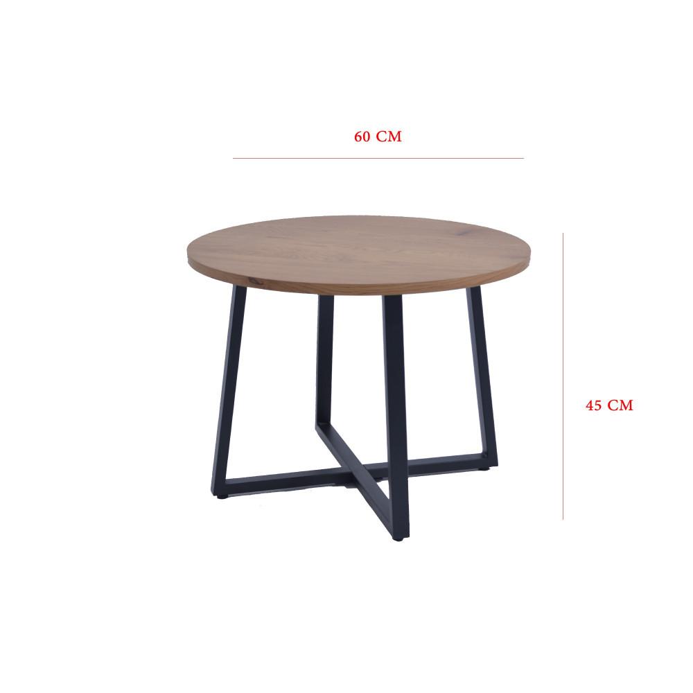 طاولة شاى خشبي مفرد من كاما C-CT-095