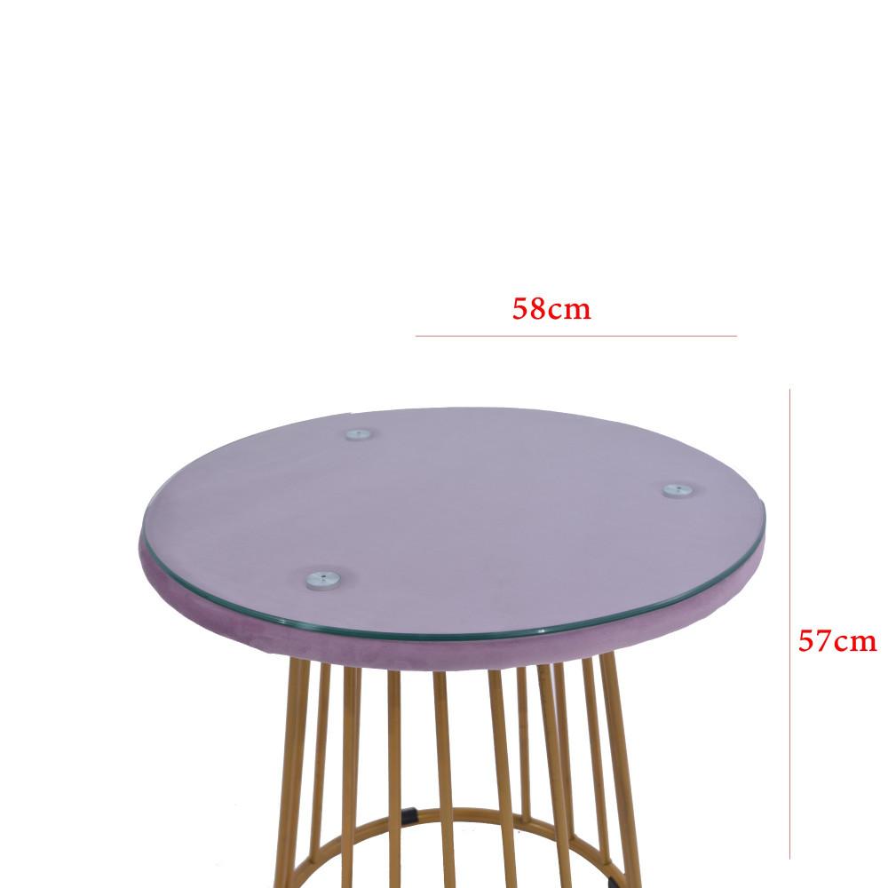 طقم طاولة و 2 كرسي pink
