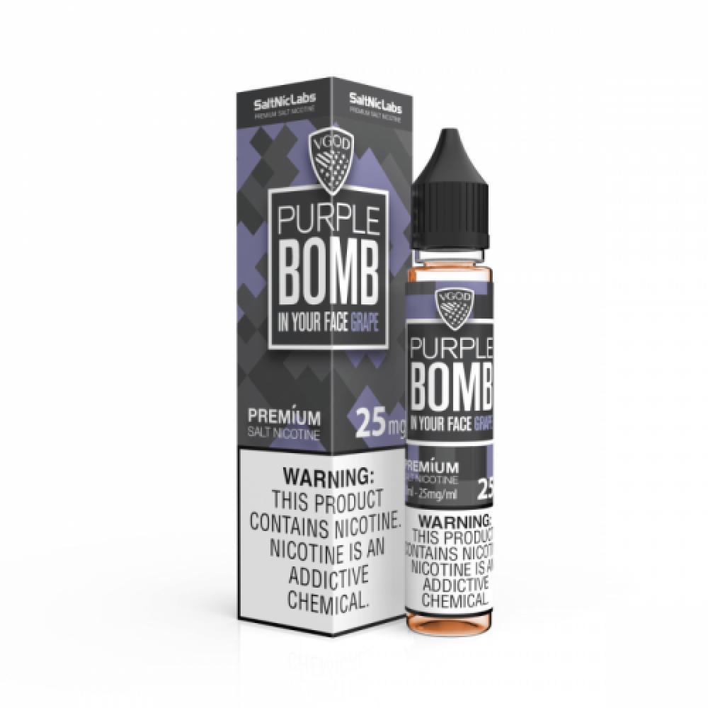 نكهة فيقود بربل بومب سولت نيكوتين VGOD PURPLE BOMB Salt