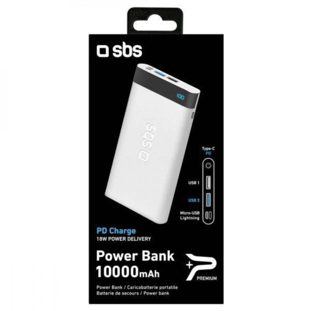 باور بنك SBS PD  بسعة 10000 مللي أمبير