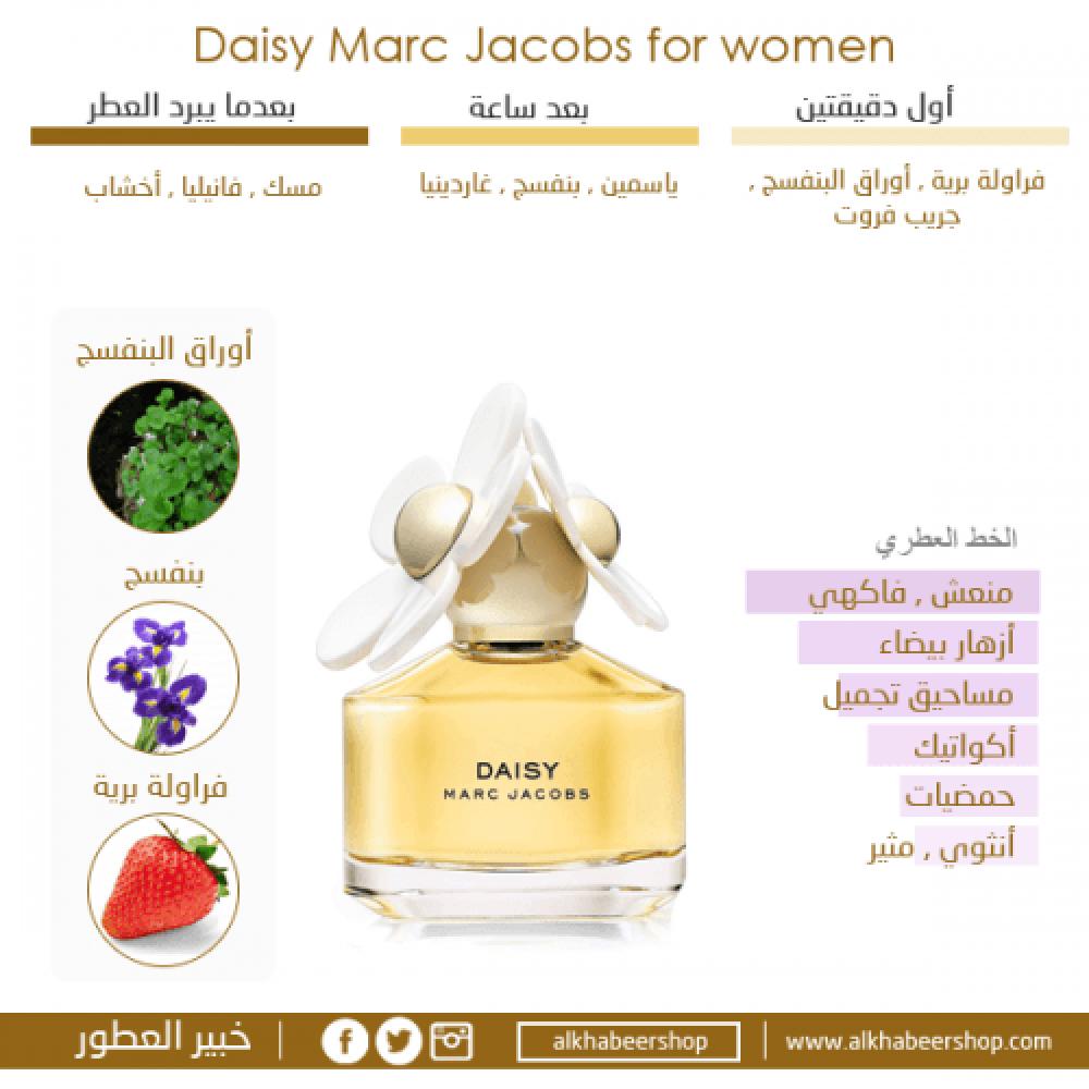 Marc Jacobs Daisy Eau de Toilette 100ml خبير العطور