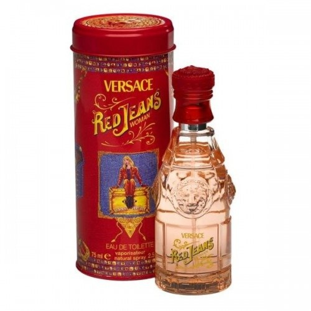 Versace Versus Red Jeans for Women Eau de Toilette 75ml خبير العطور
