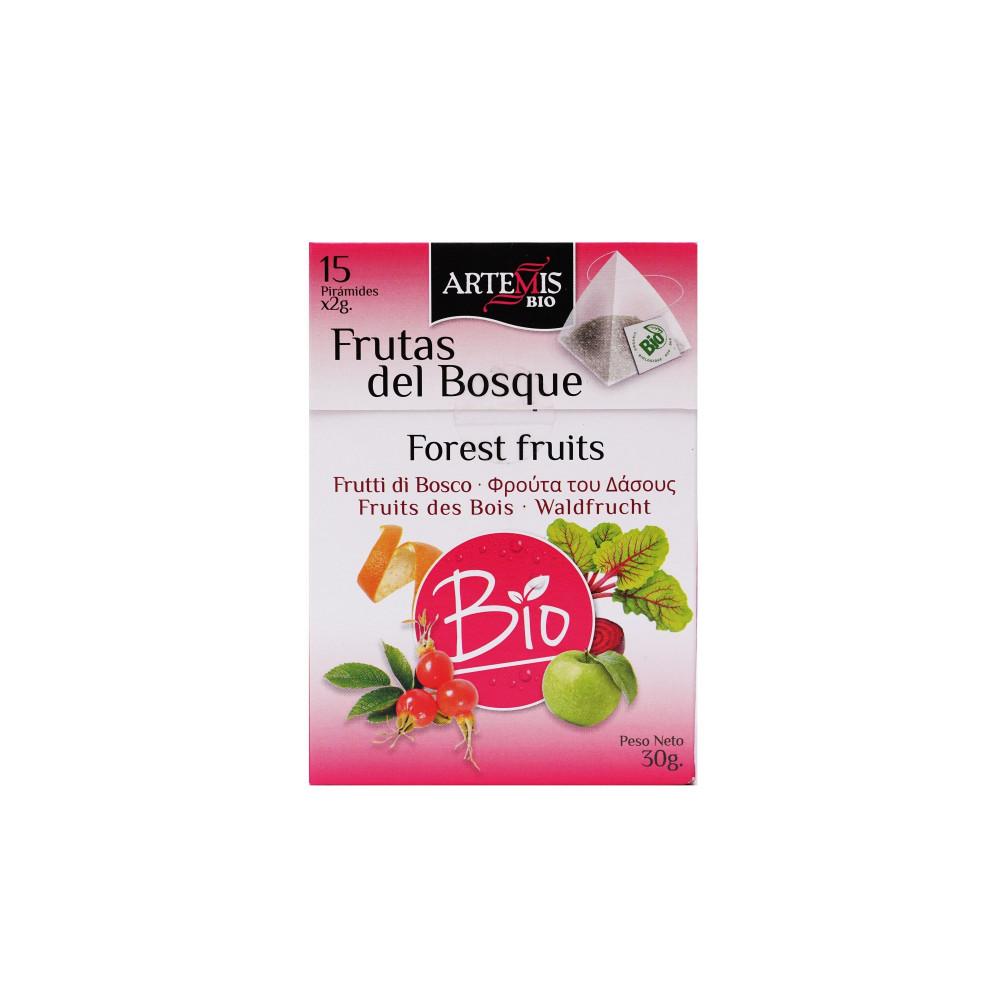 شاي ثمار فاكهة الغابة المجققة  عضوي