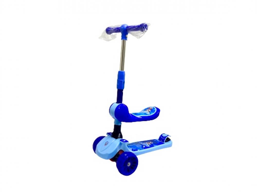 سكوتر ركل 3 في 1 للأطفال 3 عجلات مع مقعد قابل للتعديل قابل للإزالة