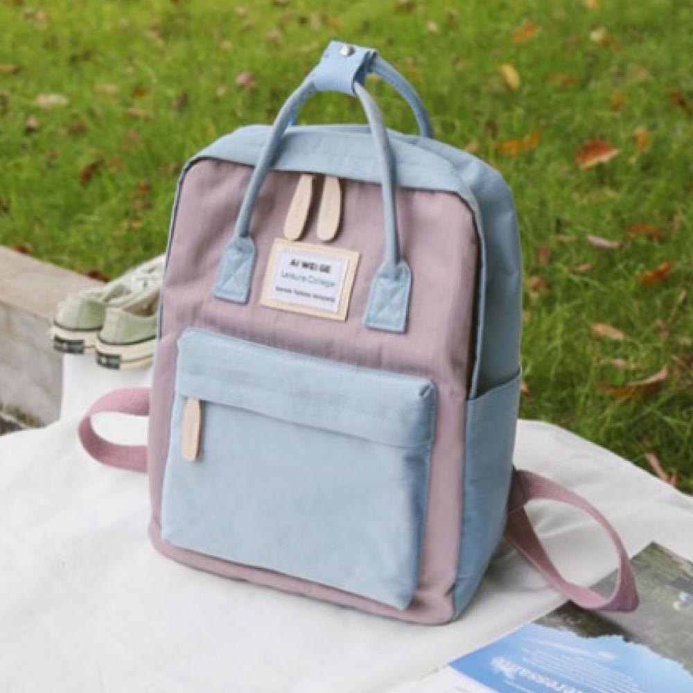 حقيبة دراسية سماوي موف