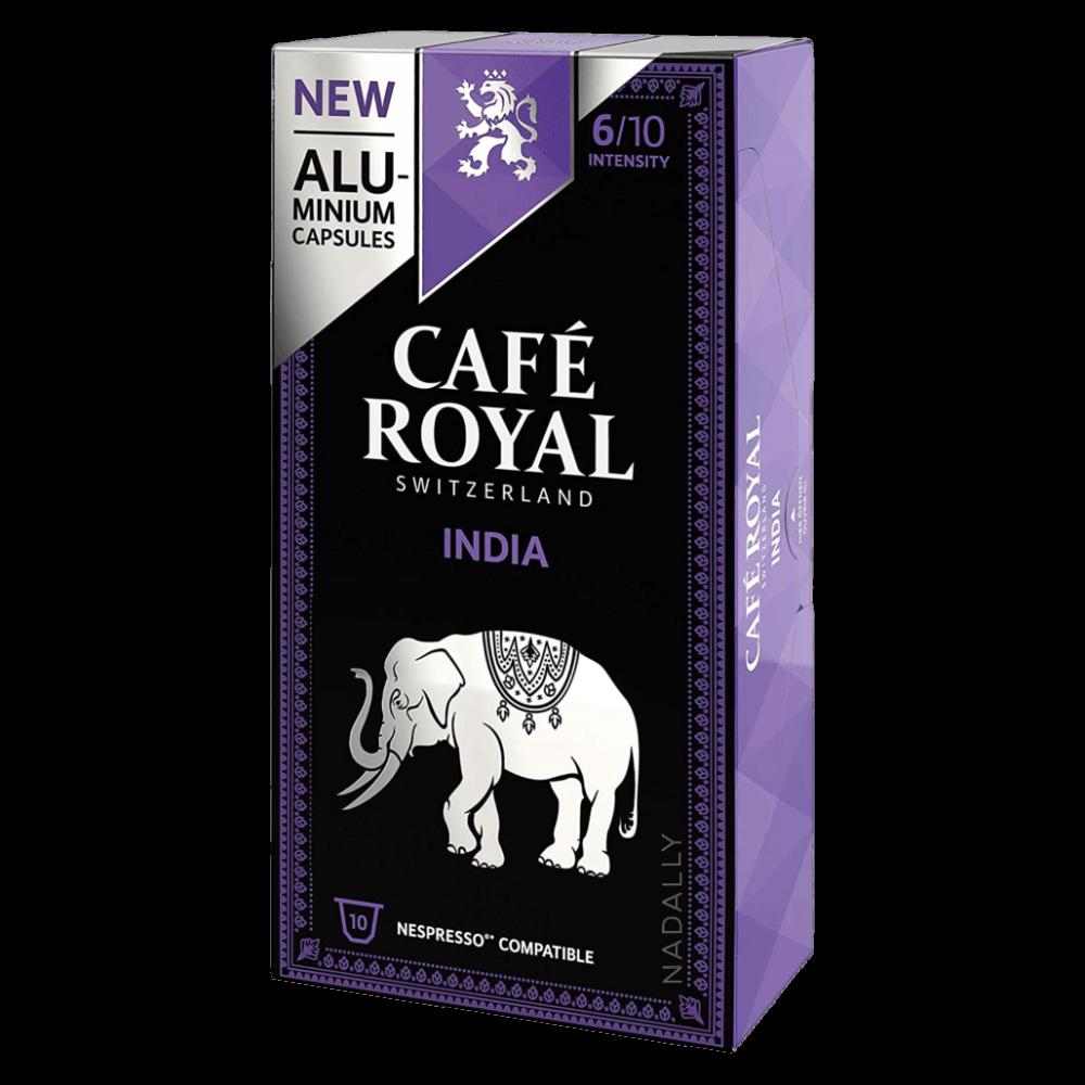 Cafe Royal قهوة كافي رويال إنديا كبسولات نسبريسو الأصلية Nespresso