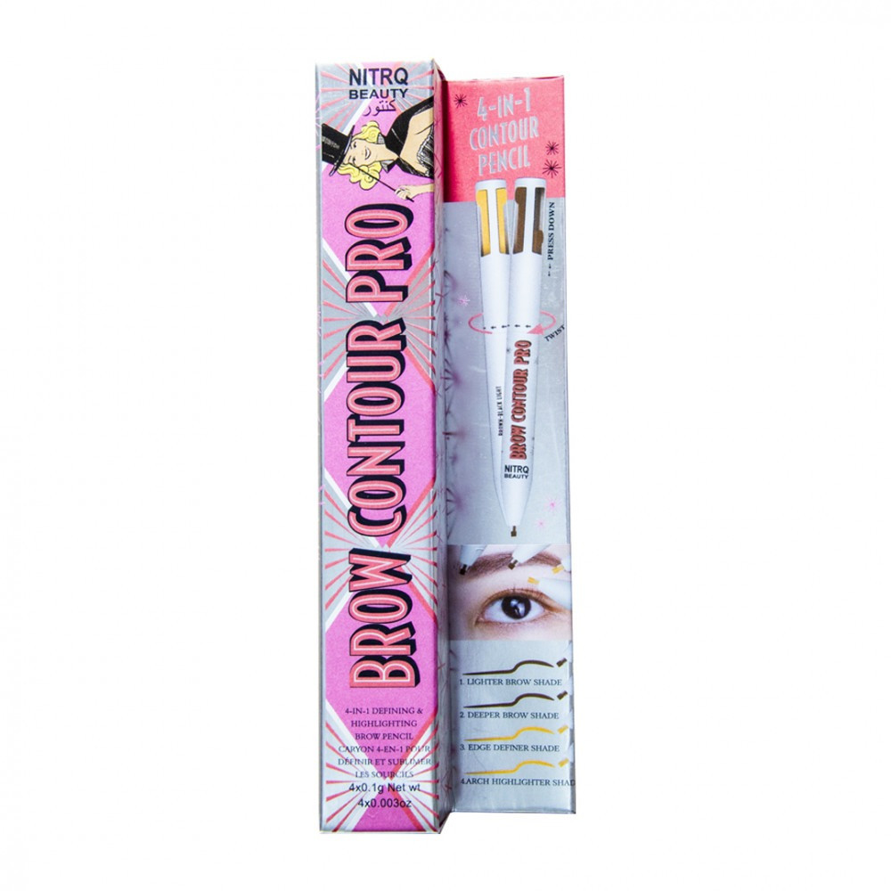 قلم حواجب برو كونتور برو 4 في 1