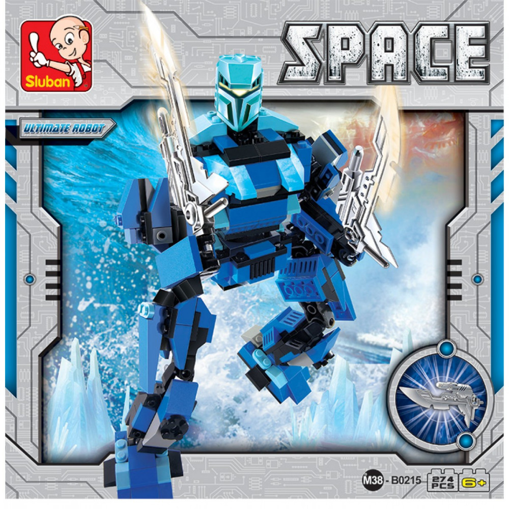 قطع تركيب روبوت, العاب, Toys, Robot , Sluban