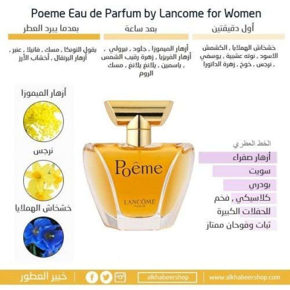 Lancome Poeme for Women Eau de Parfum 100ml خبير العطور