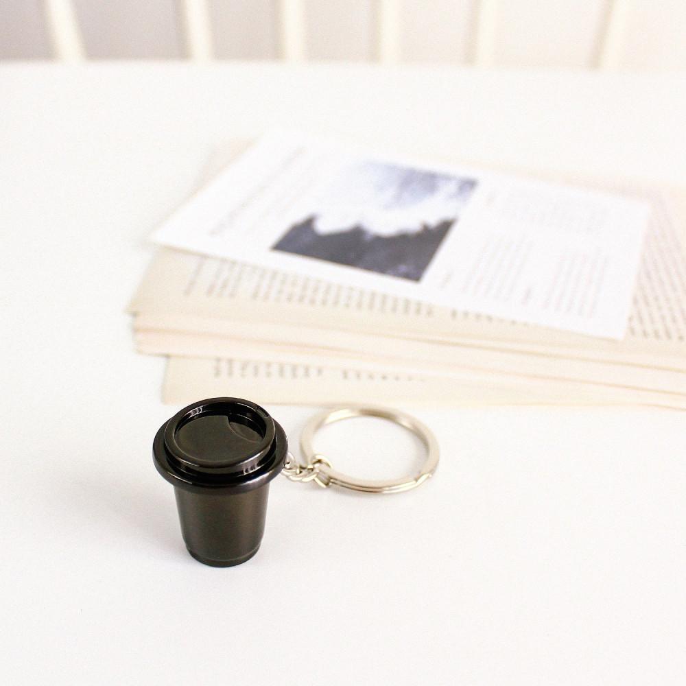 ميدالية مفاتيح لعشاق القهوة ميداليات أدوات القهوة هدية رجالية نسائية