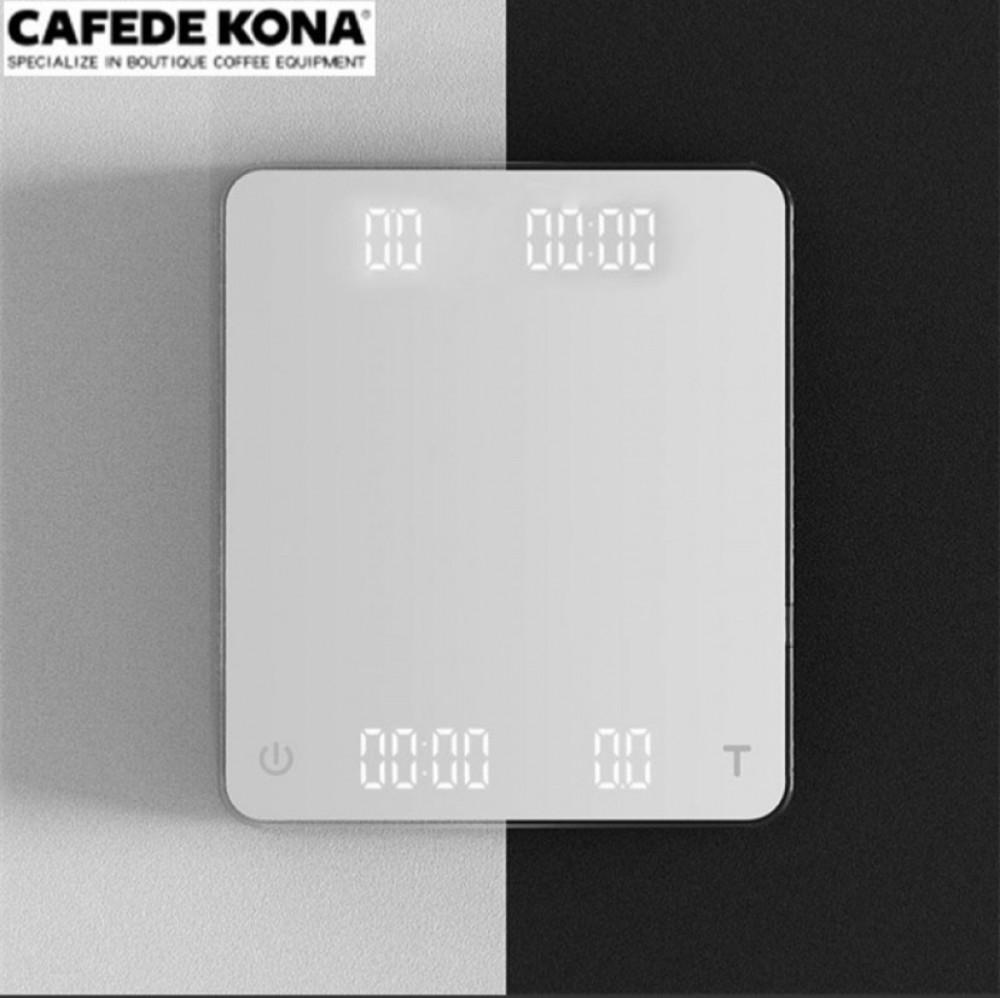 ميزان CAFEDE KONA رقمي اللون ابيض