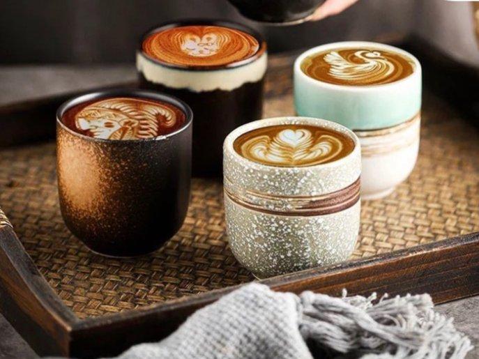 اكواب القهوه
