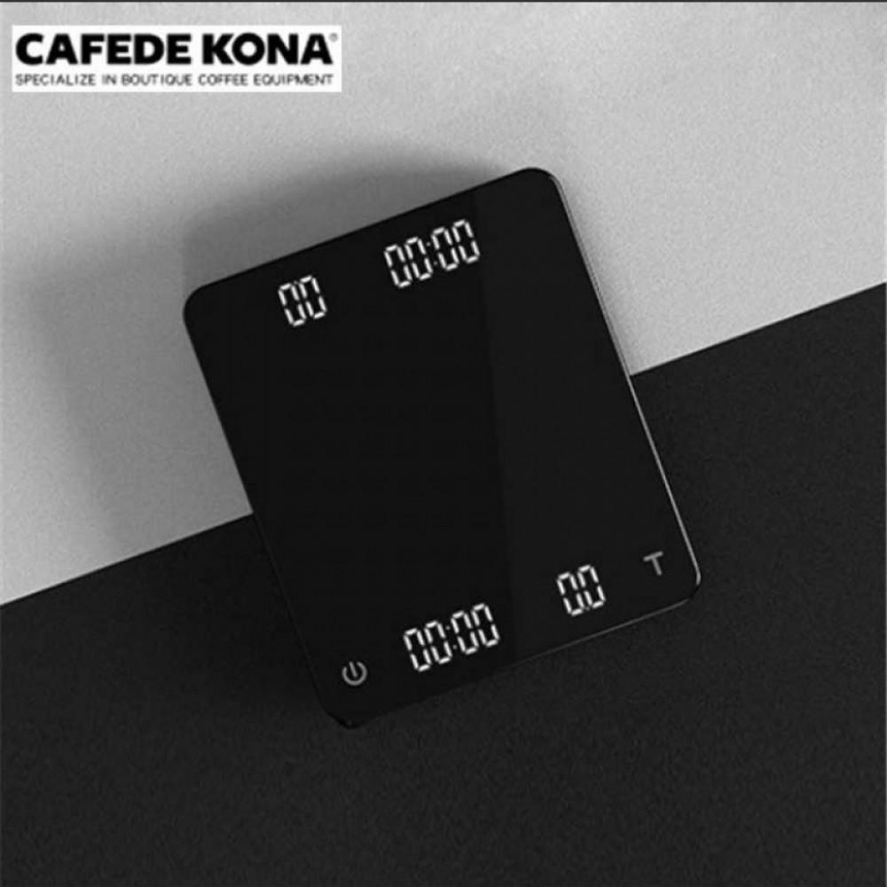 ميزان CAFEDE KONA رقمي اللون اسود