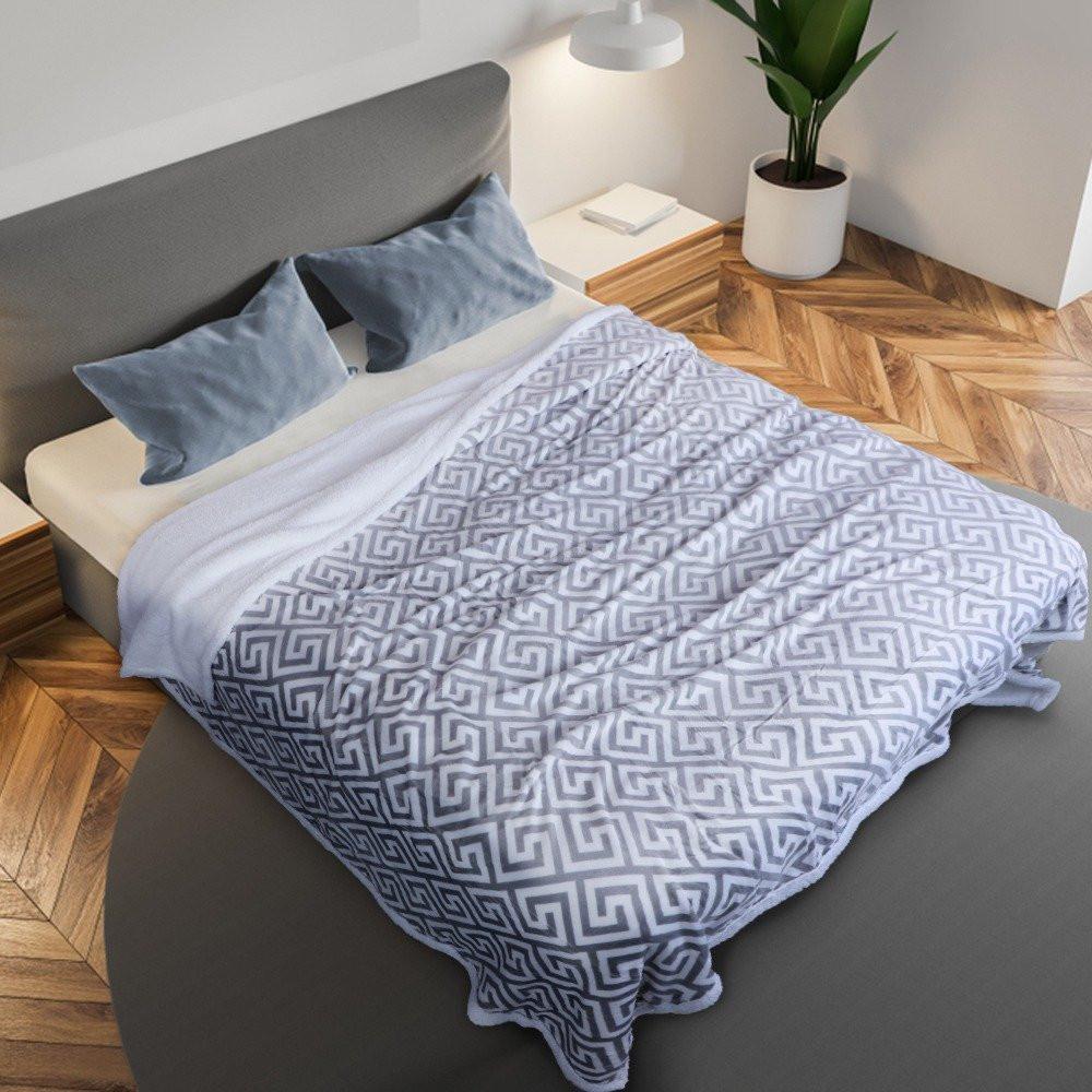 بطانية مخمل وفرو مزدوج - ميلانو - من متجر مفارش ميلين