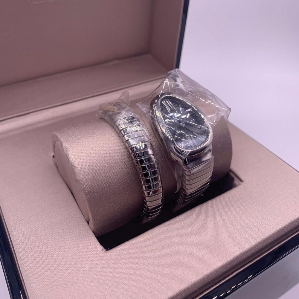 ساعة بولغري الثعبان سنيك الأصلية الفاخرة جديدة