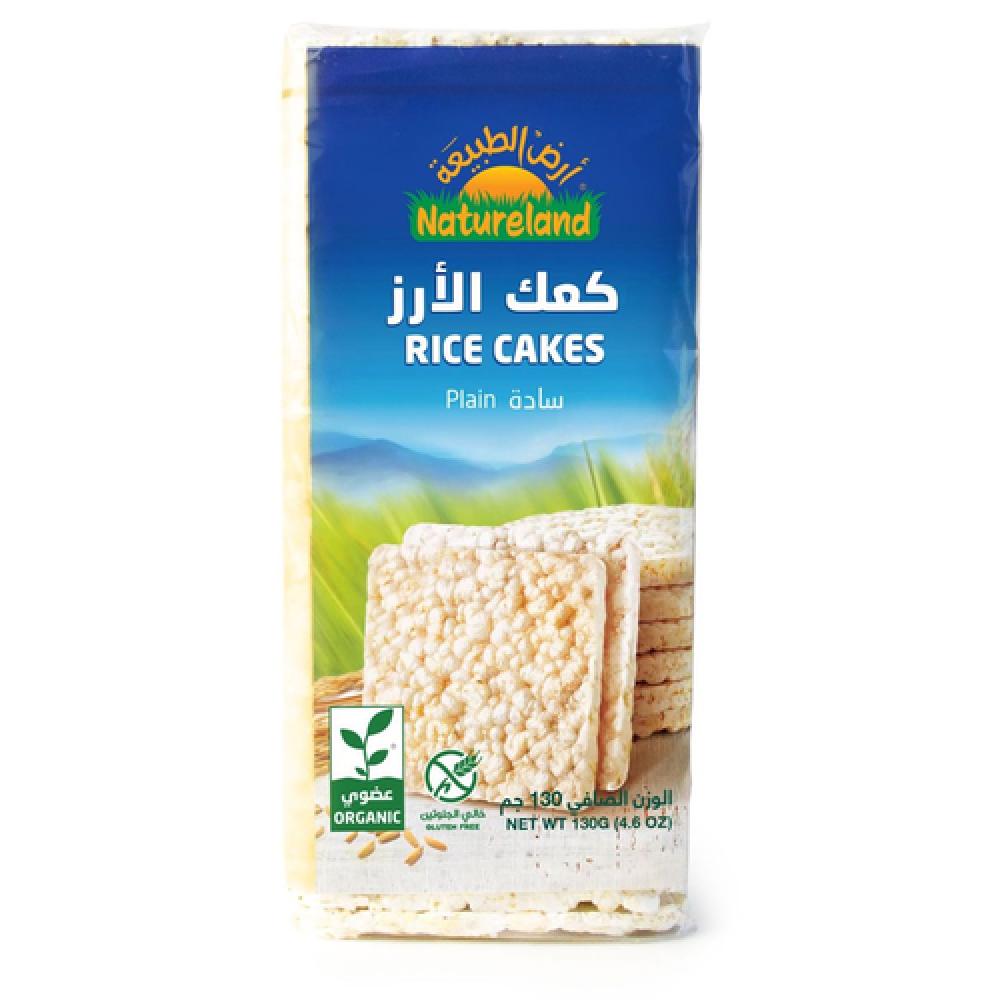 كعك الأرز سادة عضوي 130 جرام