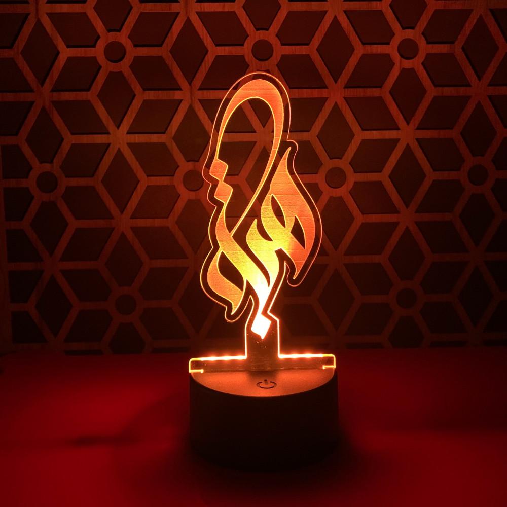 إضاءة أكريليك اسماء هبة