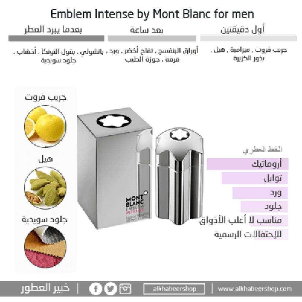 Mont Blanc Emblem Intense Eau de خبير العطور