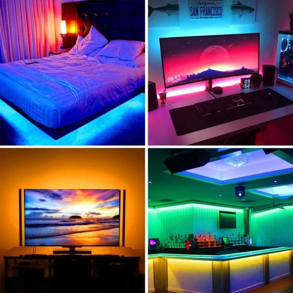 شريط إضاءة LED RGB - مقاسات متعددة