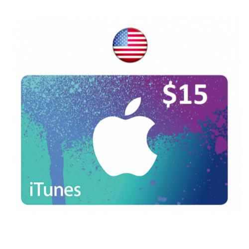 ايتونز امريكي 15 دولار