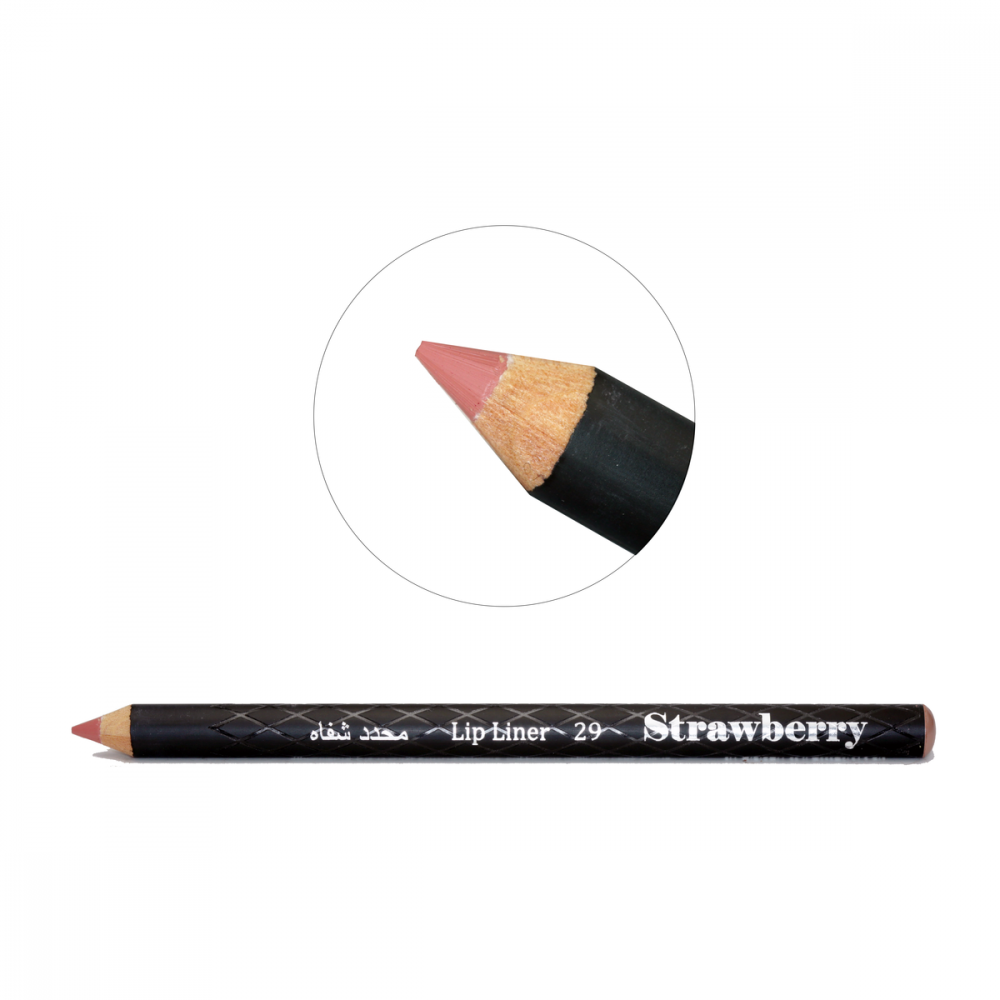 Strawberry  Lip Liner Pencil  No-29