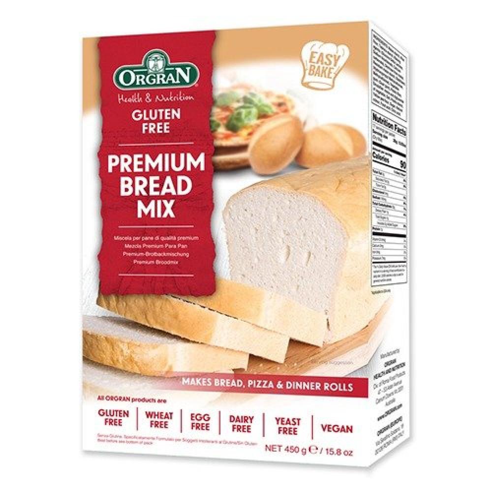 خليط الخبز الأبيض المميز خالي من الجلوتين 450 جرام