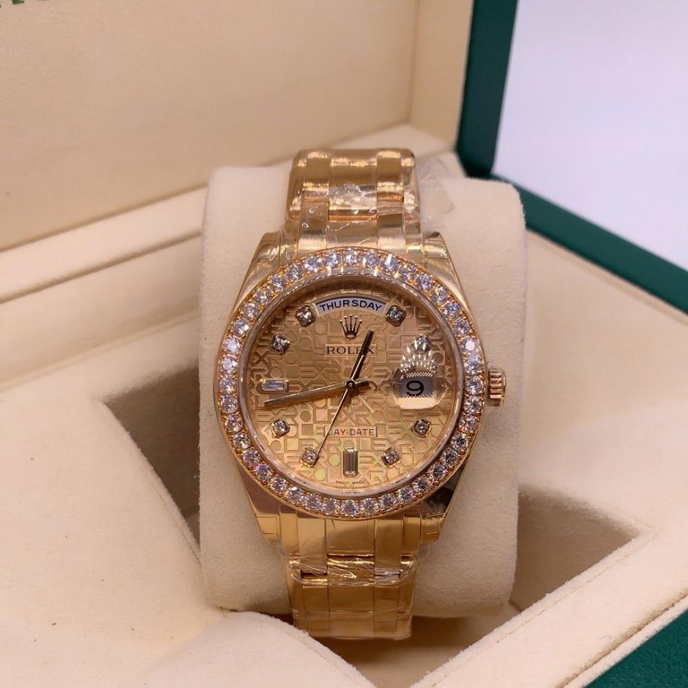 ساعة رولكس داي ديت الأصلية الثمينة جديدة كليا  18948